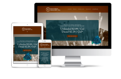 Responsive website design for small business