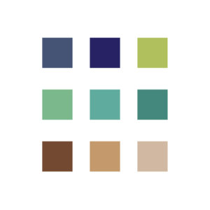 color palette for logo design