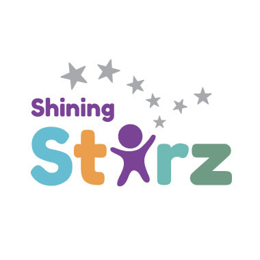 shining starz logo design