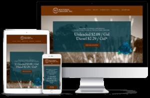 Bootheel Grocery web design mockup