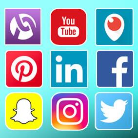 too many social media icons