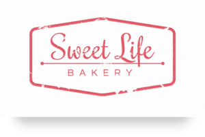 Small business logo - Sweet Life Bakery - websitedesign.plus