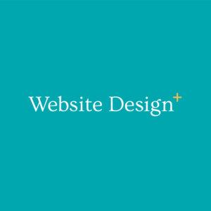 website design plus logo