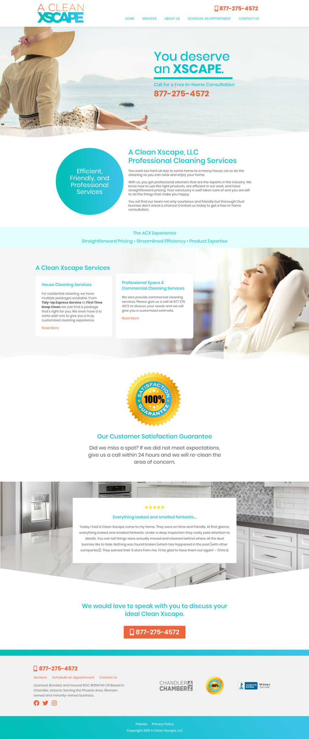 A Clean Xscape Web Design Concept